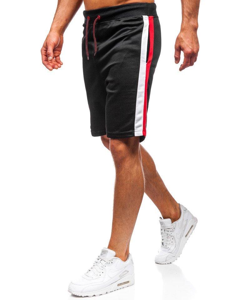 Men's Sweat Shorts Black Bolf 81015