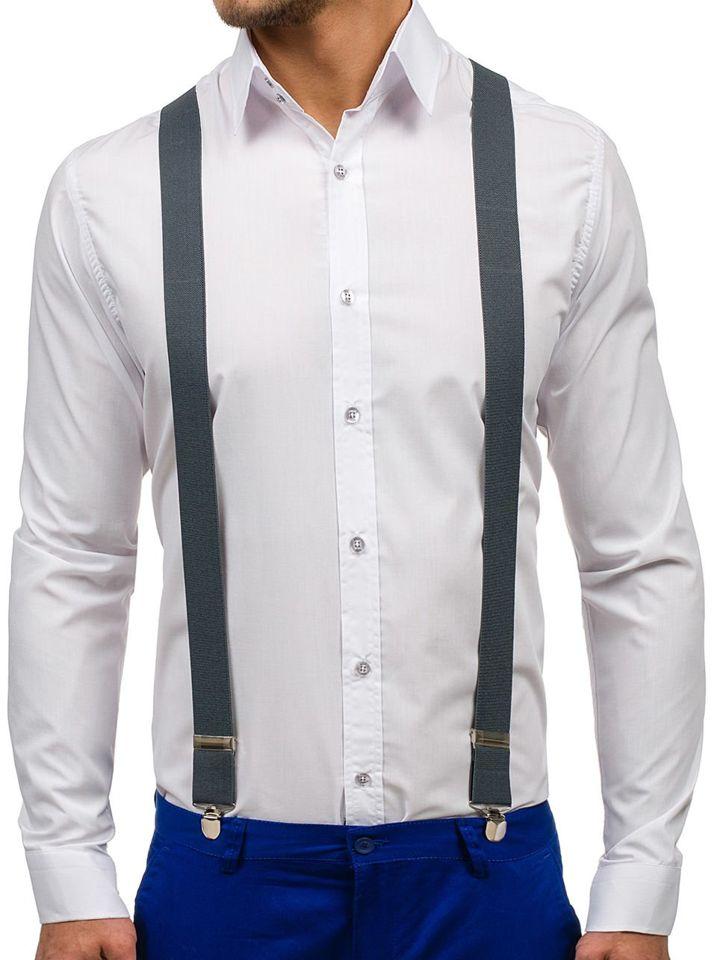 Men's Suspenders Graphite Bolf SZ01