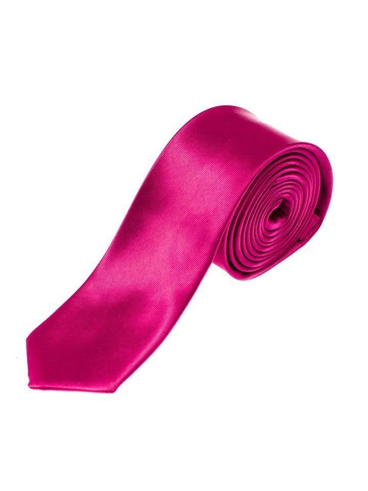 Men's Elegant Tie Dark Violet Bolf K001
