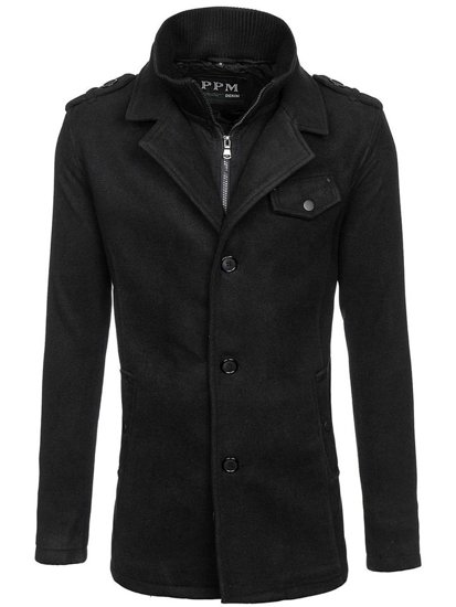 Men's Coat Black Bolf 8853