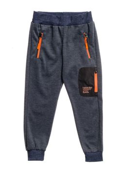 Boy's Sweatpants Navy Blue Bolf CVC820