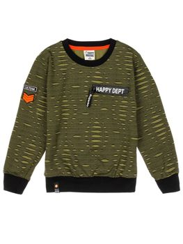 Boy's Sweatshirt Green Bolf HB1963