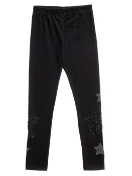Girl's Leggings Black Bolf HH16