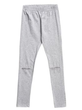 Girl's Leggings Grey Bolf WB2121
