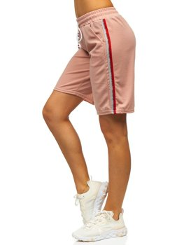 Light Pink Women's Shorts Bolf YW01022