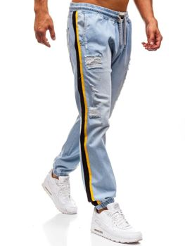 Men's Baggy Jeans Light Blue Bolf 2041