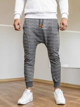 Men's Baggy Sweatpants Graphite Bolf Q5001
