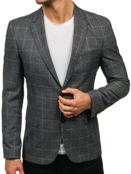 Men's Blazer Grey Bolf 1141