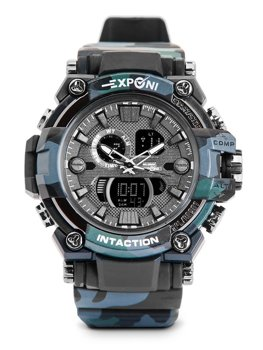 Men's Camo Wristwatch Black Bolf 3258