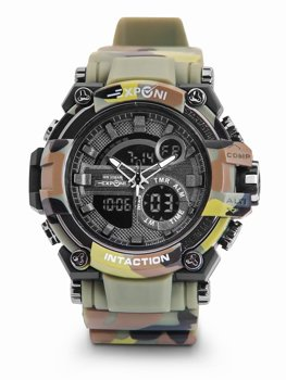 Men's Camo Wristwatch Green Bolf 3258