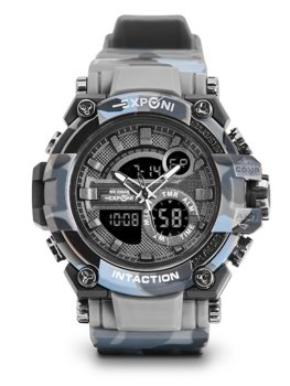 Men's Camo Wristwatch Grey Bolf 3258