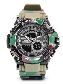 Men's Camo Wristwatch Khaki Bolf 3258