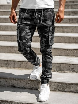 Men's Cargo Joggers Graphite Bolf CT6019