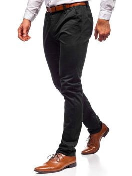 Men's Chino Trousers Black Bolf KA6807