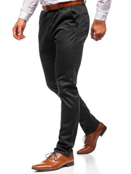 Men's Chino Trousers Black Bolf KA968