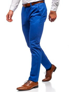 Men's Chino Trousers Blue Bolf 1120