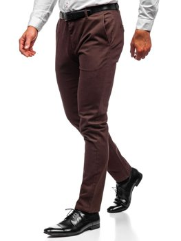 Men's Chino Trousers Brown Bolf 1120