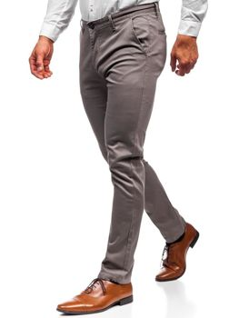 Men's Chino Trousers Grey Bolf KA969