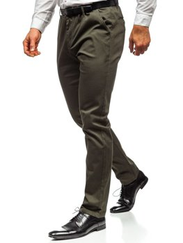 Men's Chino Trousers Khaki Bolf KA968