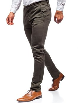 Men's Chino Trousers Khaki Bolf KA969