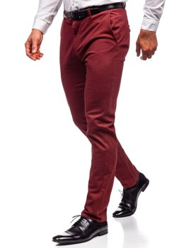 Men's Chino Trousers Red Bolf 1120