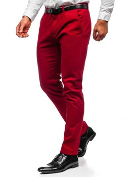 Men's Chinos Red Bolf 1143
