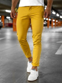 Men's Chinos Yellow Bolf 1146-1