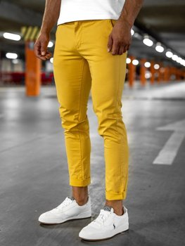 Men's Chinos Yellow Bolf 1146