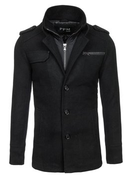 Men's Coat Black Bolf 8856C