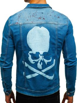 Men's Denim Jacket Blue Bolf 2052-1