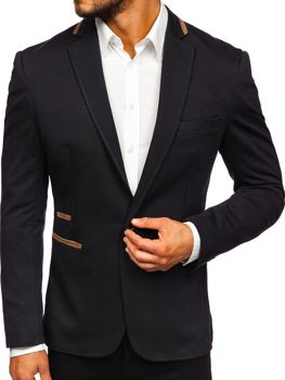 Men's Elegant Blazer Black Bolf 9400