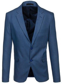 Men's Elegant Blazer Blue Bolf 1050