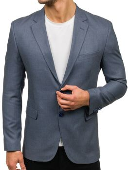 Men's Elegant Blazer Grey Bolf 1050