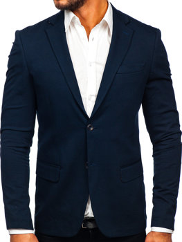Men's Elegant Blazer Navy Blue Bolf SR2003