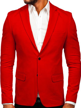 Men's Elegant Blazer Red Bolf SR2003