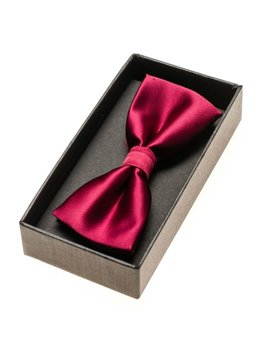 Men's Elegant Bow Tie Burgundy Bolf M001