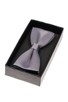 Men's Elegant Bow Tie Light Graphite Bolf M001