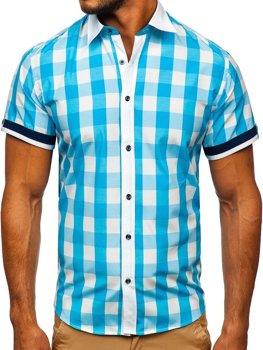 ec072bb16c8d Men s Checkered Shirts Spring Summer 2019 - Bolf Online Shop
