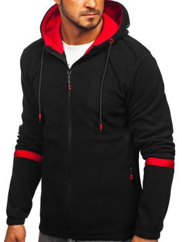 Men's Fleece Hoodie Black Bolf YL007