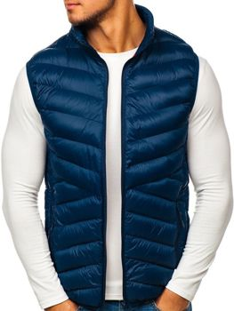 Men's Gilet Navy Blue Bolf SM21