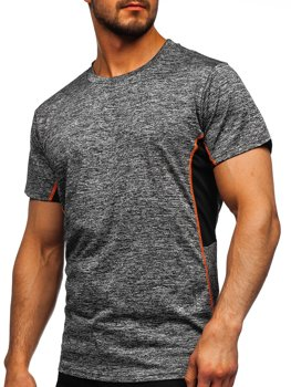 Men's Gym T-shirt Graphite Bolf HM073