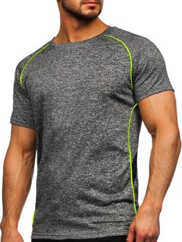 Men's Gym T-shirt Graphite Bolf HM085