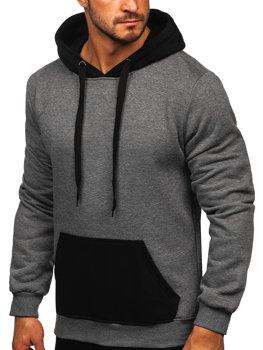BOLF Uomo Felpa con Cappuccio Hoodie Maglia Pullover Sweatshirt 1A1 Grafico
