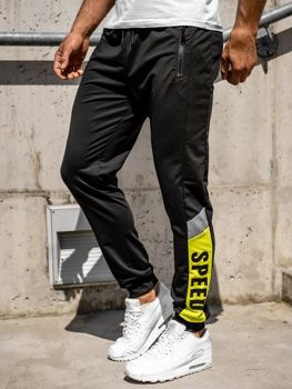 Men's Jogger Sweatpants Black Bolf HY717
