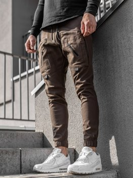 Men's Joggers Brown Bolf 0956