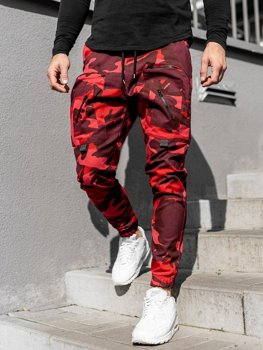 Men's Joggers Red Bolf 0956
