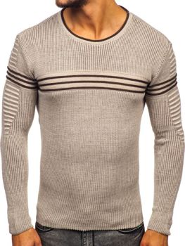 Men's Jumper Beige Bolf 0001