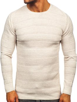 Men's Jumper Beige Bolf 4357