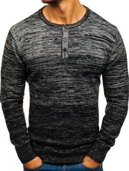 Men's Jumper Black Bolf H1821