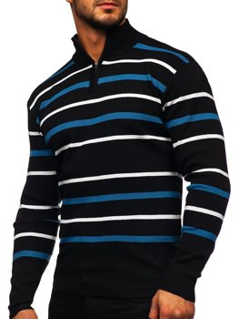 Men's Jumper Black Bolf W05